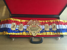 MUHAMMAD ALI Ring Magazine exact boxing belt- BEST GIFT FOR A MEN -IBF, WBO, WBA