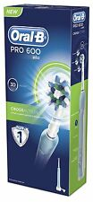 Braun Oral B Pro Cross Action Rechargeable Power Electric Toothbrush *New*