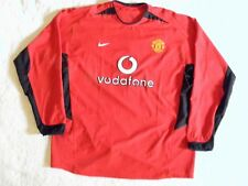 Nike Authentic Manchester United Man U David Beckham jersey Long Sleeves 2XL NEW