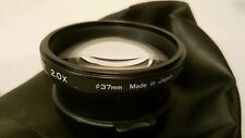 TIFFEN TELEPHOTO CONVERTER 37MM LENS 2X For Canon Pro Shot 1 Japan