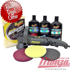 NEW!! Meguiars MT320 Dual Action Machine Car Polishing / Buffer Ultimate Kit