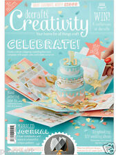 Docrafts creatividad revista Abril 2016 nº 69 + gratis mini tarjetas &