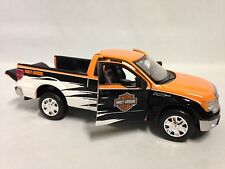 Harley Davidson, 2010 Ford F-150 Pickup, Collectible Diecast 1:24 Maisto Toys OR