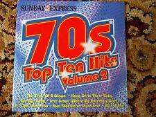 70s Top Ten Hits Volume 2 Sunday Express CD