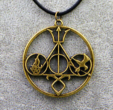 5 in 1 Harry Potter Percy Jackson Hunger Game Mortal Instrument Pendant Gift