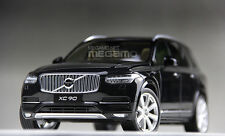1/18 CSM Volvo XC90 7 Seats SUV 2015 Black Dealer Edition