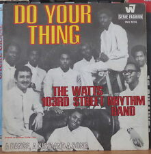 THE WATTS 103RD STREET RHYTHM BAND DO YOUR THING FRENCH SP