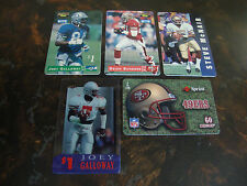 1995-1996 Classic Football---Phone Cards---Lot Of 5---See List---NrMt