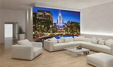Los Angeles City Hall Wall Mural Photo Wallpaper GIANT WALL DECOR PAPER POSTER
