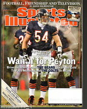 2007 Sports Illustrated Chicago Bears Brian Urlacher Subscription Issue Exc*