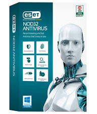 Eset NOD32 Antivirus 2016 (New version 9) 1 PC 1 year/an free updates