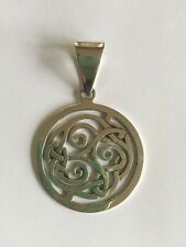 Silpada Sterling Silver Celtic Pendant S1230 Retired Necklace 925