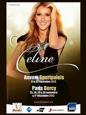 "Celine Dion Paris 16"" x 12"" Photo Repro Concert Poster"