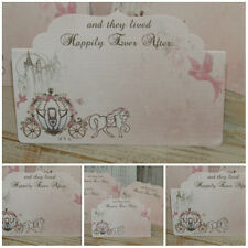 8 Happily Ever After Blank Table/Place  Cards Decoration,Wedding.Party,Birthday