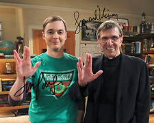 REPRINT - JIM PARSONS 4 Leonard  Nimoy Sheldon BIG BANG THEORY autograph photo