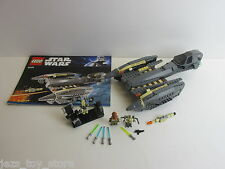 lego 8095 STAR WARS general grievous starfigher SET complete inc minifigures