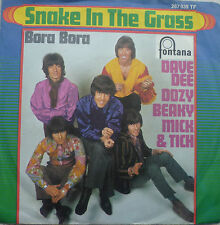 "7"" Dave DEE DOZY BEAKY MICK & tich: snake in the Grass"