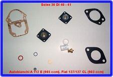 Fiat 127,Autobianchi A 112,Solex 30 DI,Vergaser Rep.Sat