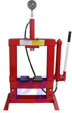 10 Ton Hydraulic Shop Press Floor Bench Top w/ Pressure Gauge *FREE SHIPPING*