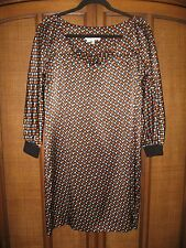 See by Chloe women's print silk dress size US 6 / I 42 New w/o tags