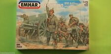 WW1 German Artillery 1/72 Emhar 7204