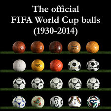 THE COMPLETE WORLD CUP MATCH BALL COLLECTION (8x pre-adidas + 12x adidas balls)