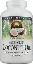 Extra Virgin Coconut Oil, Source Naturals, 60 gelcap