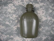 NEW, US 1 QUART COLLAPSIBLE PLASTIC CANTEEN, OD GREEN