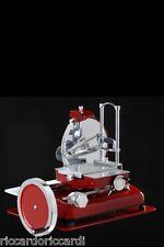 Affettatrice a volano pieno lama mm 350 manuale Fac rossa nuova tipo Berkel