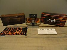 Oakley Limited Edition Fallout Fuel Cell Rust Decay Fire Iridium Polarized NIB