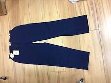 aquascutum ladies navy trouser.
