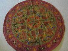 TC10 HANDMADE EMBROIDERY ART DECORATIVE TABLE CLOTH-HAND MADE IN INDIA - NEW