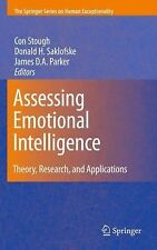 Assessing Emotional Intelligence : Theory, Research, and Applications (2010,...