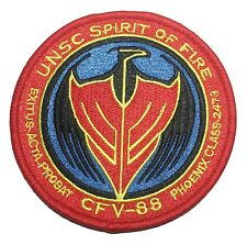 HALO Guardians UNSC Spirit of Fire Logo Embroidered PATCH