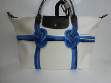 NWT Longchamp Surf City Medium Hobo with Strap (Blue) US$355 *Made in France*