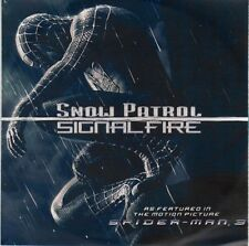 SNOW PATROL Signal Fire Radio UK promo CD Spider-Man 3