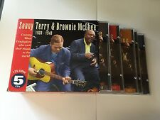 Country Blues Troubadours 1938-48 - Terry/Mcghee 5 CD SET