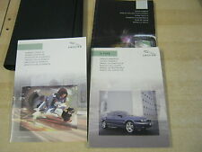 JAGUAR X-TYPE OWNERS MANUAL HANDBOOK  2003-2007 INC TOUCH SCREEN NAVIGATION