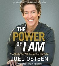 The Power of I Am by Joel Osteen (2015, CD, Unabridged)