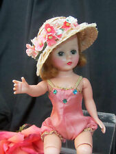 VINTAGE 1950s Mad. Alexander CISSETTE doll TAGGED pink SUN SUIT high color BLOND