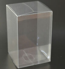 1* Bomboniere clear PVC wedding gift cup cake product box 8x8x10cm BUY QTY RQD