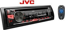 JVC KD-R471 CD/USB/AUX/MP3 Car Media Player.