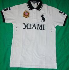 New Mens Ralph Lauren Big Pony Polo Shirt  Miami size Large