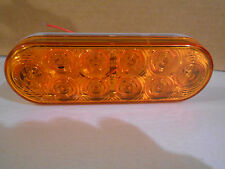 BLAZER 10 DIODE LED TURN LIGHT AMBER DC12V TAIL STOP AND TURN