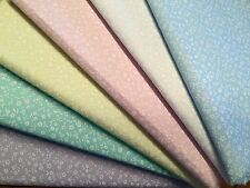 Fat Quarters Bundles PASTEL PAISLEY Blender Fabric Craft Flower Sewing Bunting