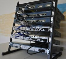 CISCO PREMIUM  CCENT CCNA CCNP LAB  1x 2811 CME 8.6 IOS 15.1 2x 2611XM,RACK INCL