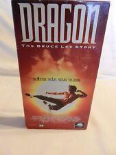 Dragon: The Bruce Lee Story (VHS, 1993) Lauren Holly, Jason Scott Lee (FJ)