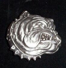 SCRATCH SNIFF BULLDOG GIFT BELT BUCKLE DOG BUCKLES