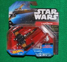 Hotwheels Star Wars Force Awakens Poe's X-Wing Fighter 2015 Walmart Exclusive