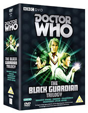DOCTOR WHO - BLACK GUARDIAN TRILOGY (CLASSIC) - DVD - REGION 2 UK